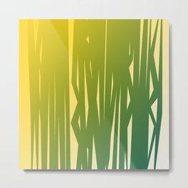 wild jungle lines elements II Metal Print
