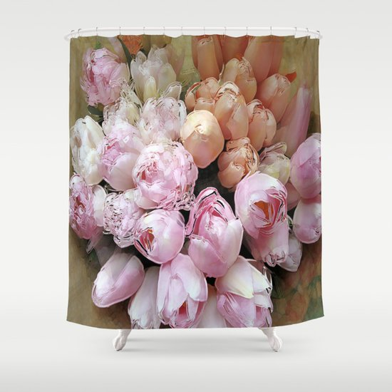 Tulips from Amsterdam Shower Curtain