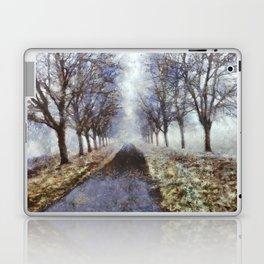 Bord de Saône en Hiver Laptop & iPad Skin