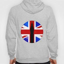 Union Jack Button Hoody