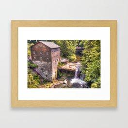 Youngstown Ohio Lanterman's Mill Framed Art Print