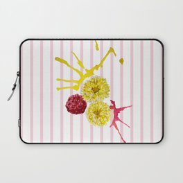 pink and yellow flower bouquet Laptop Sleeve