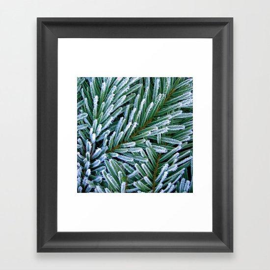 cold winter IV Framed Art Print