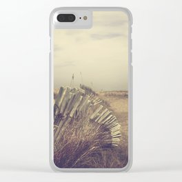 Hazy Days Clear iPhone Case