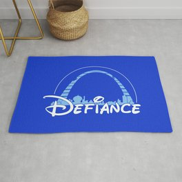 The most defiant place on New Earth Rug
