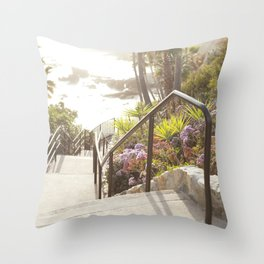 Laguna Beach, California  //  Travel the World Throw Pillow