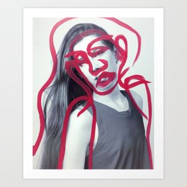 Harper Art Print