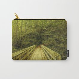 Bridge To Moore Cove Falls Carry-All Pouch