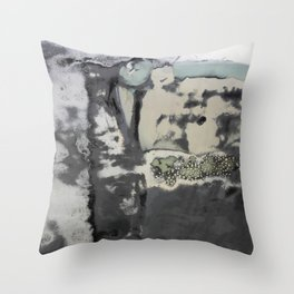 Harbour Abstract - JUSTART (c) Throw Pillow