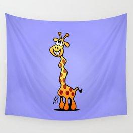 Joyfull Giraffe Wall Tapestry