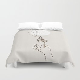 Like a thousand stars Duvet Cover