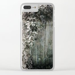 Climbing Vine Clear iPhone Case