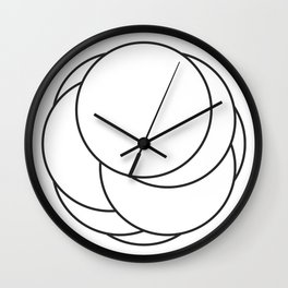 #566 rotate(ellipse) Wall Clock