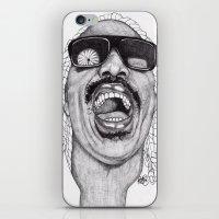 stevie nicks iPhone & iPod Skins featuring Stevie  by Paul Nelson-Esch Art