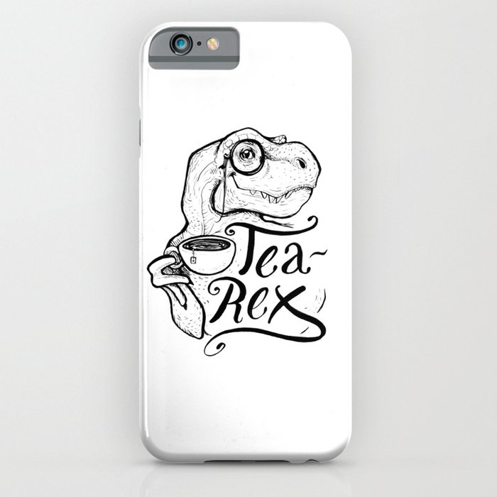 tea-rex iphone case