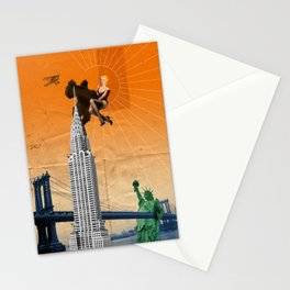 exit landscape Stationery Cards