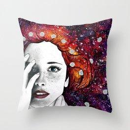 Daisy Head Throw Pillow