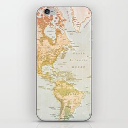 Pastel World iPhone Skin
