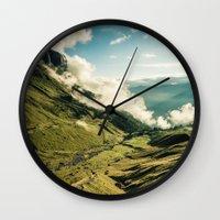 wander Wall Clocks featuring Wander by StayWild