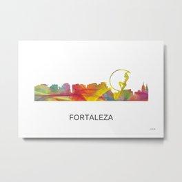Fortaleza Brazil skylines WB1 Metal Print