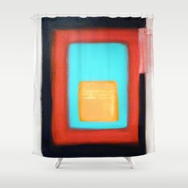 Living Rothko Shower Curtain