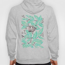 Happy Sloth – Tropical Mint Rainforest Hoody