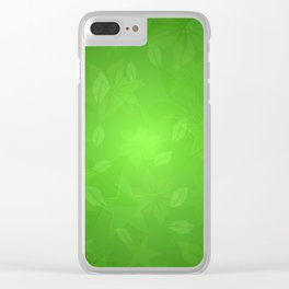 Green rivers.... Clear iPhone Case