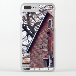 Fading Away Clear iPhone Case