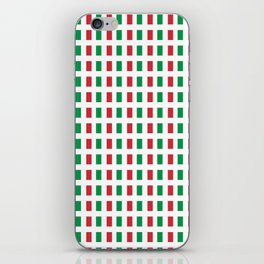 flag of Italia- Italy,Italia,Italian,Latine,Roma,venezia,venice,mediterreanean,Genoa,firenze iPhone Skin