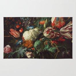 Jan Davidsz de Heem - Vase of Flowers Rug