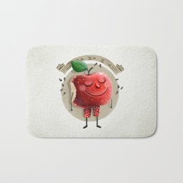 Apple Bath Mat