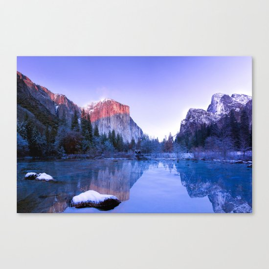 Lake Landscape #photography #society6 #photography Canvas Print