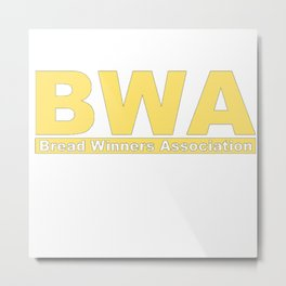 BWA Bread Winners Association Kevin Gates Metal Print