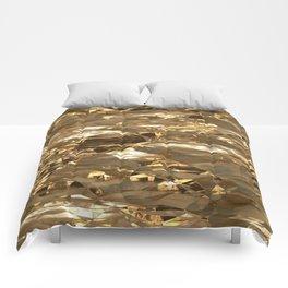 Gold Metal Comforters