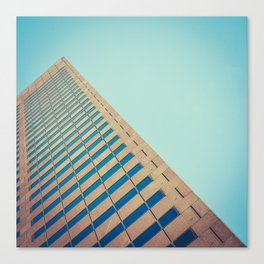 Diagonal Architecture Abstract Canvas Print