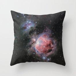 Orion Nebula #2 Throw Pillow