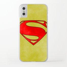 Super Hero, comics Clear iPhone Case