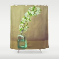 blossom Shower Curtains featuring Blossom by Jessica Torres Photography
