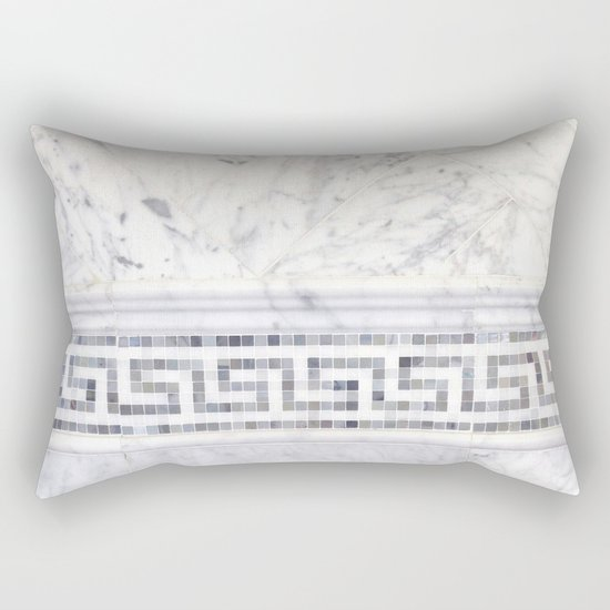 Greek Marble 2 Rectangular Pillow