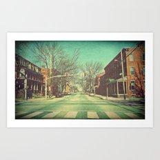 Let's Go Downtown Art Print