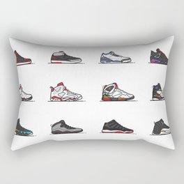 aj 1-12 are my favs especially I, IIi, IV, VI, IX, XI, XII Rectangular Pillow