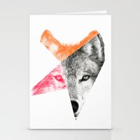 eric fan Stationery Cards featuring Wild - by Eric Fan and Garima Dhawan by Eric Fan