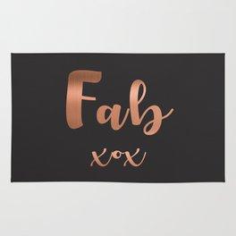 Fab xox Rug