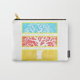 Tree Window Panels Carry-All Pouch