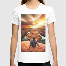 on top of canyonlands T-shirt