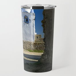 Arraiolos white tower, Portugal Travel Mug