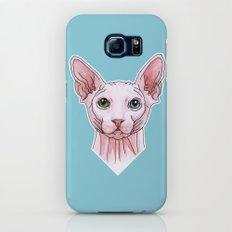 Sphynx cat portrait Galaxy S6 Slim Case