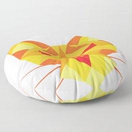 Geometricat Floor Pillow