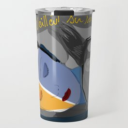 Spirits of the nights and dreams inspired by Surrealism Travel Mug