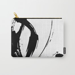Brushstrokes No.15A by Kathy Morton Stanion Carry-All Pouch
